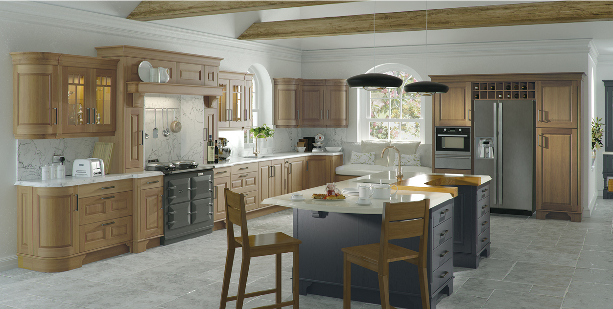Traditional tierney kitchens for Irish kitchen designs